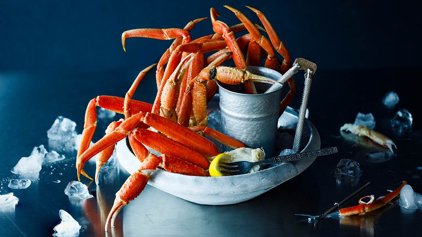 Amoretti Recipe: Crab Legs with Compound Butter