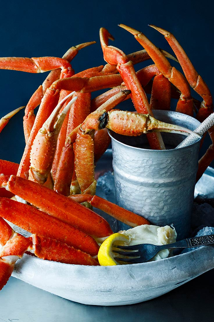 Amoretti Crab Legs with Compound Butter Recipe