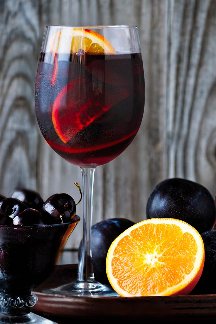 Amoretti Recipe: Fall Sangria