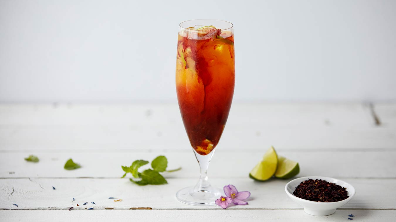 Amoretti Recipe: Tropical Hibiscus Rum Tea