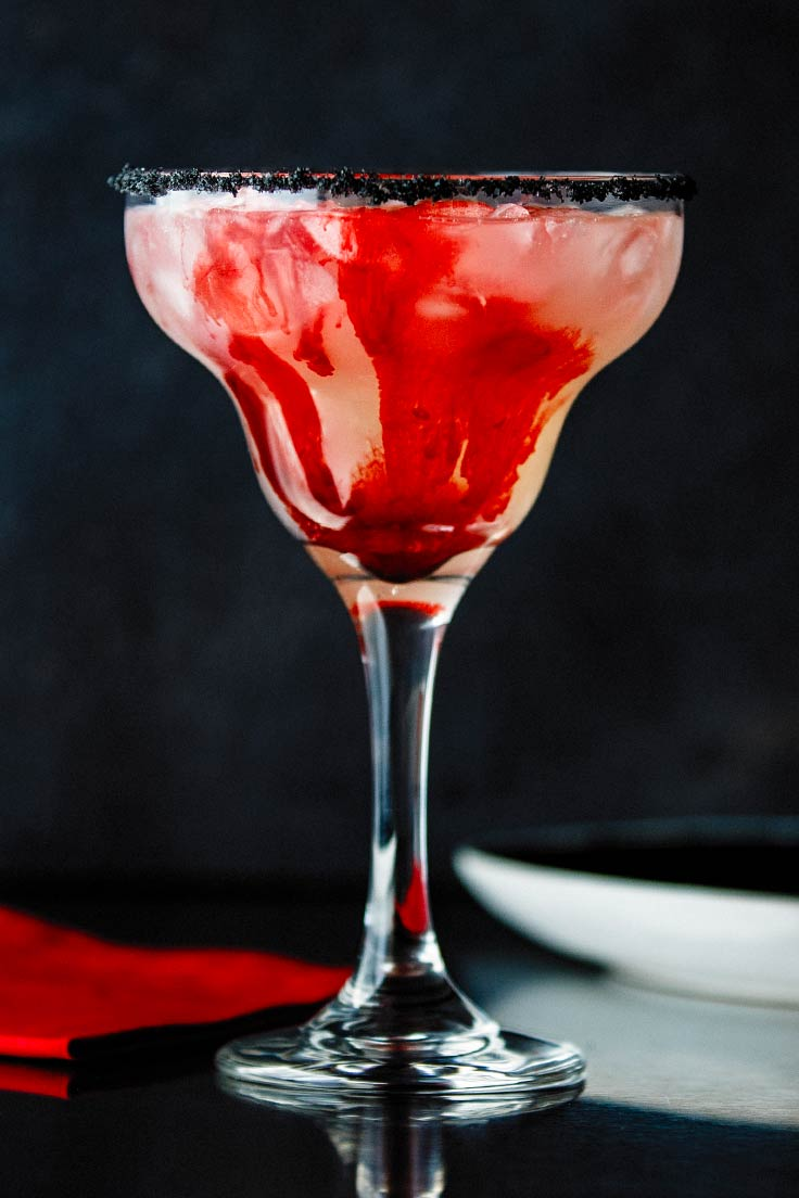 Amoretti Recipe: Bloody Good Margarita, partial mix