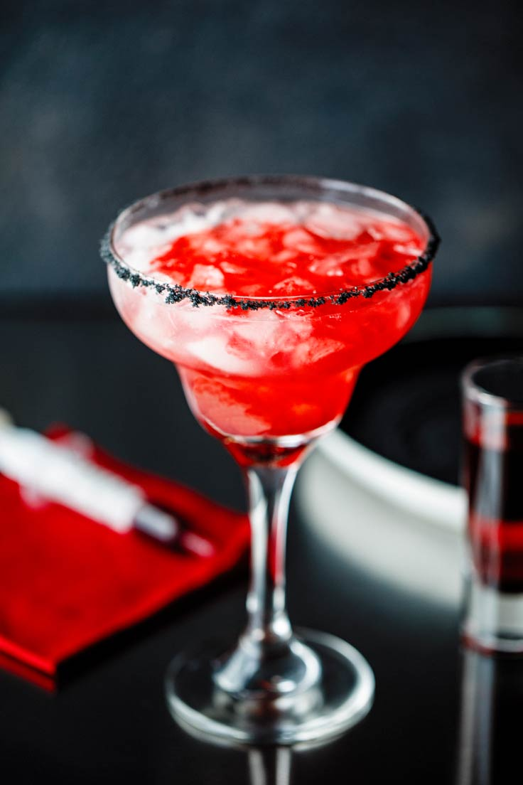 Amoretti Recipe: Bloody Good Margarita, ready to serve