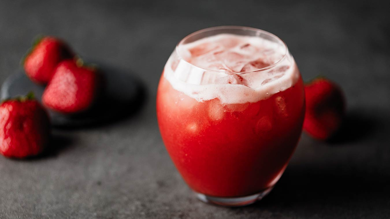 Amoretti Boozy Zombie Brain Cocktail Recipe
