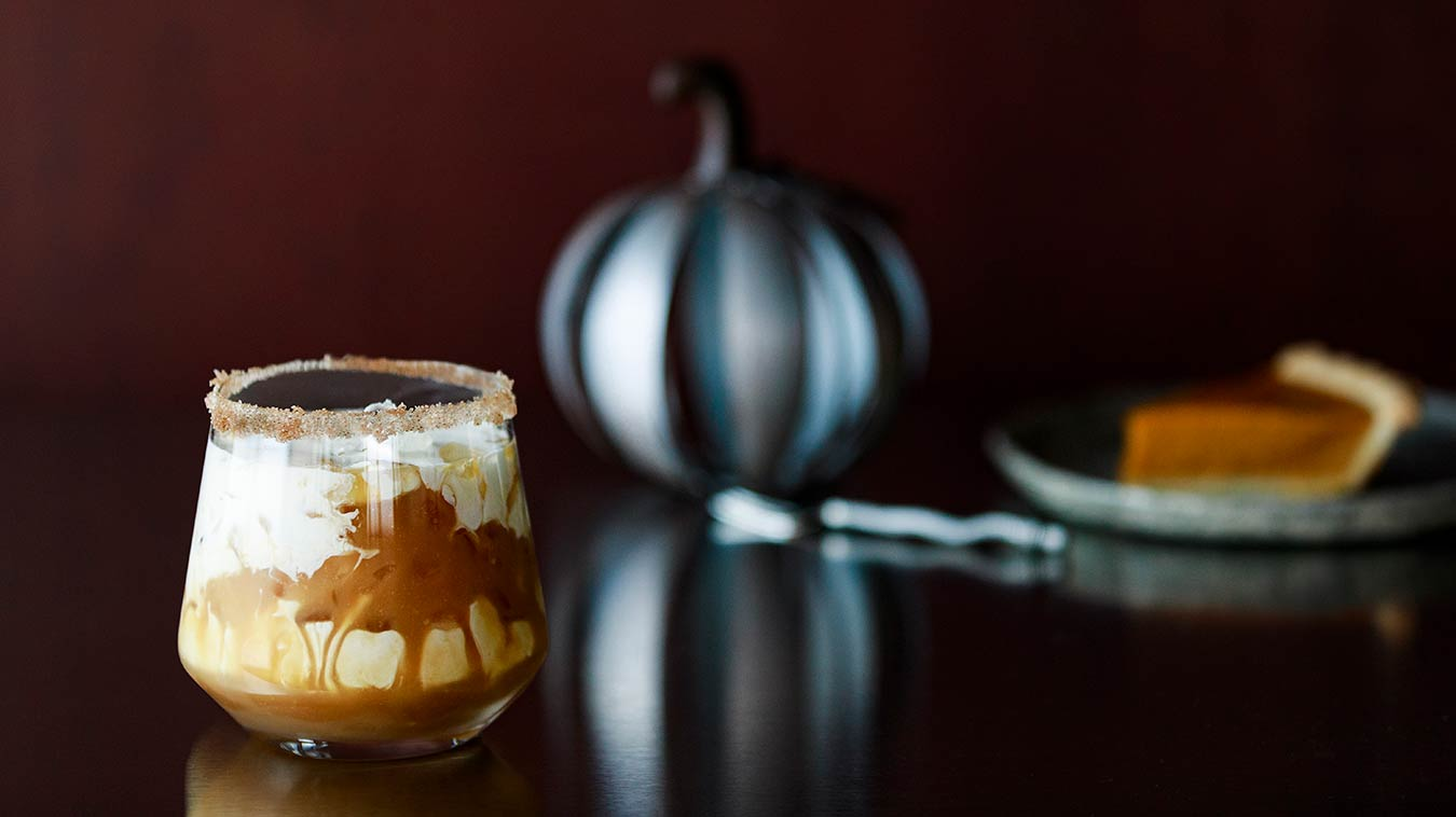 Amoretti Recipe: Pumpkin Pie White Russian