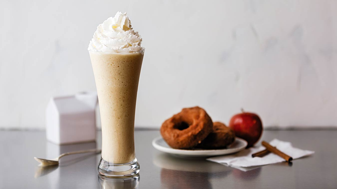 Amoretti Apple Cider Doughnut Milkshake Recipe