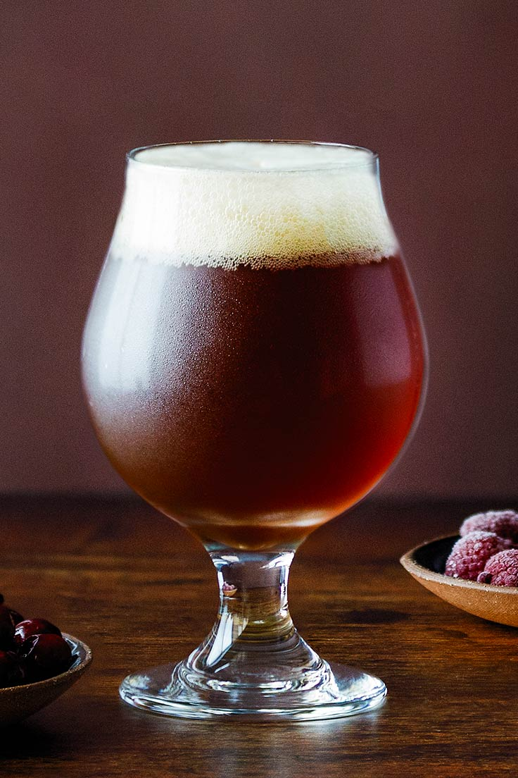 Amoretti Recipe: Stout Fest! Cranberry Blonde