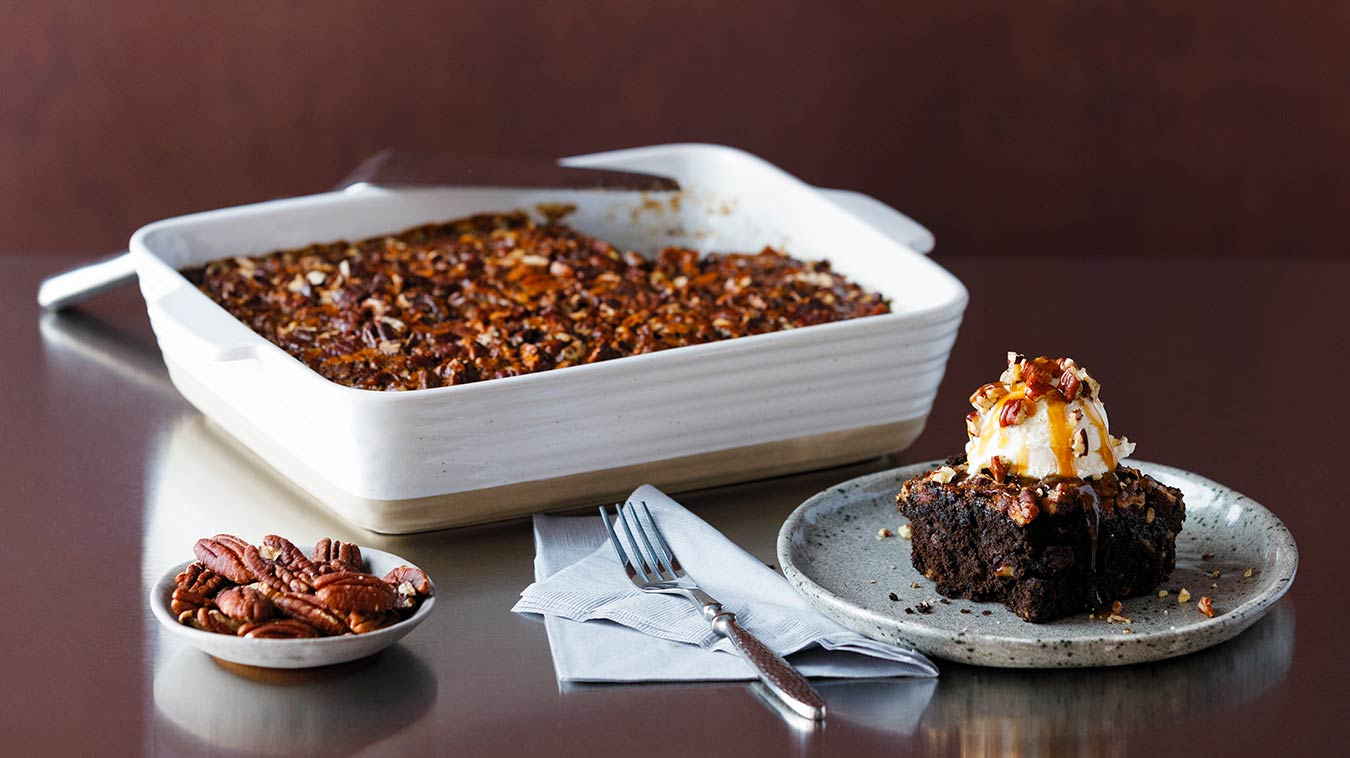 Amoretti Pecan Pie Brownie Recipe