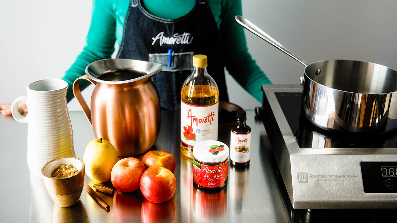Everything we need to make Amoretti's Ponche Navideño