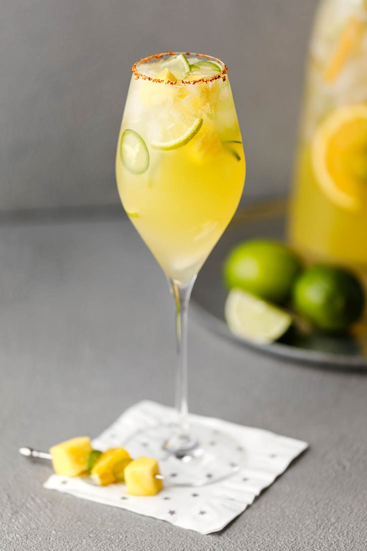 Amoretti Sweet Heat Skinny Margarita Recipe