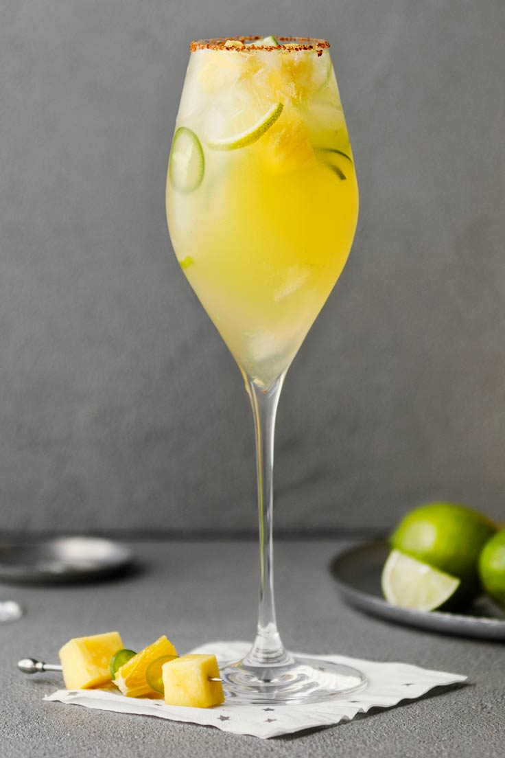 Amoretti Recipe: Sweet Heat Skinny Margarita