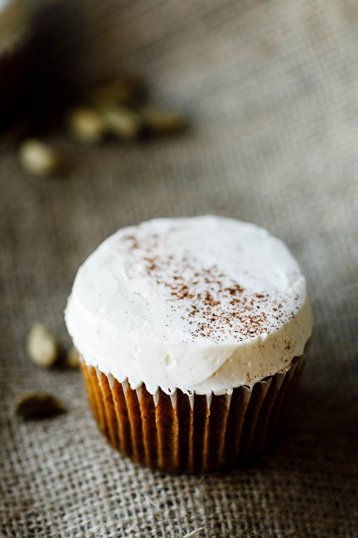 Amoretti Spiced Carrot Cupcake Recipe