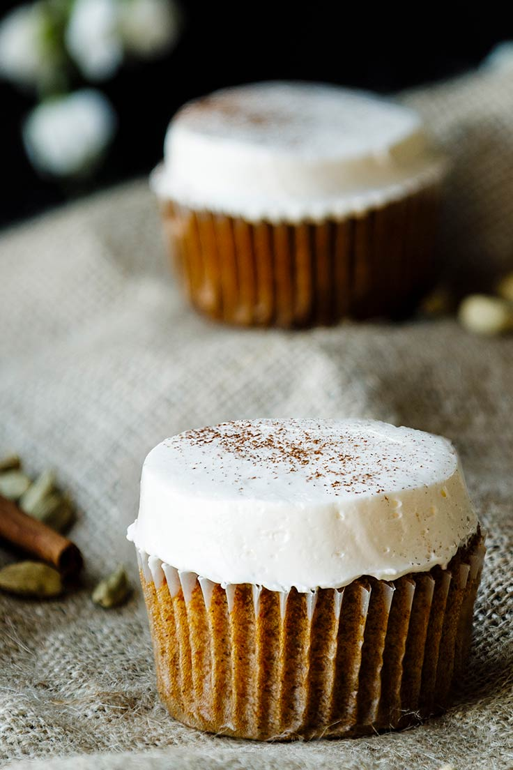 Amoretti Spiced Carrot Cupcakes Recipe