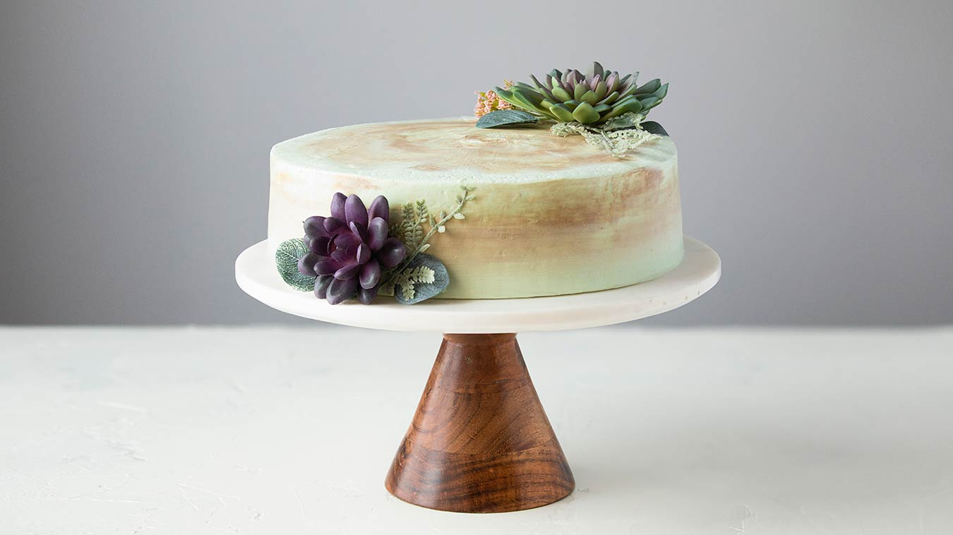 Amoretti Pistachio Layer Cake Recipe