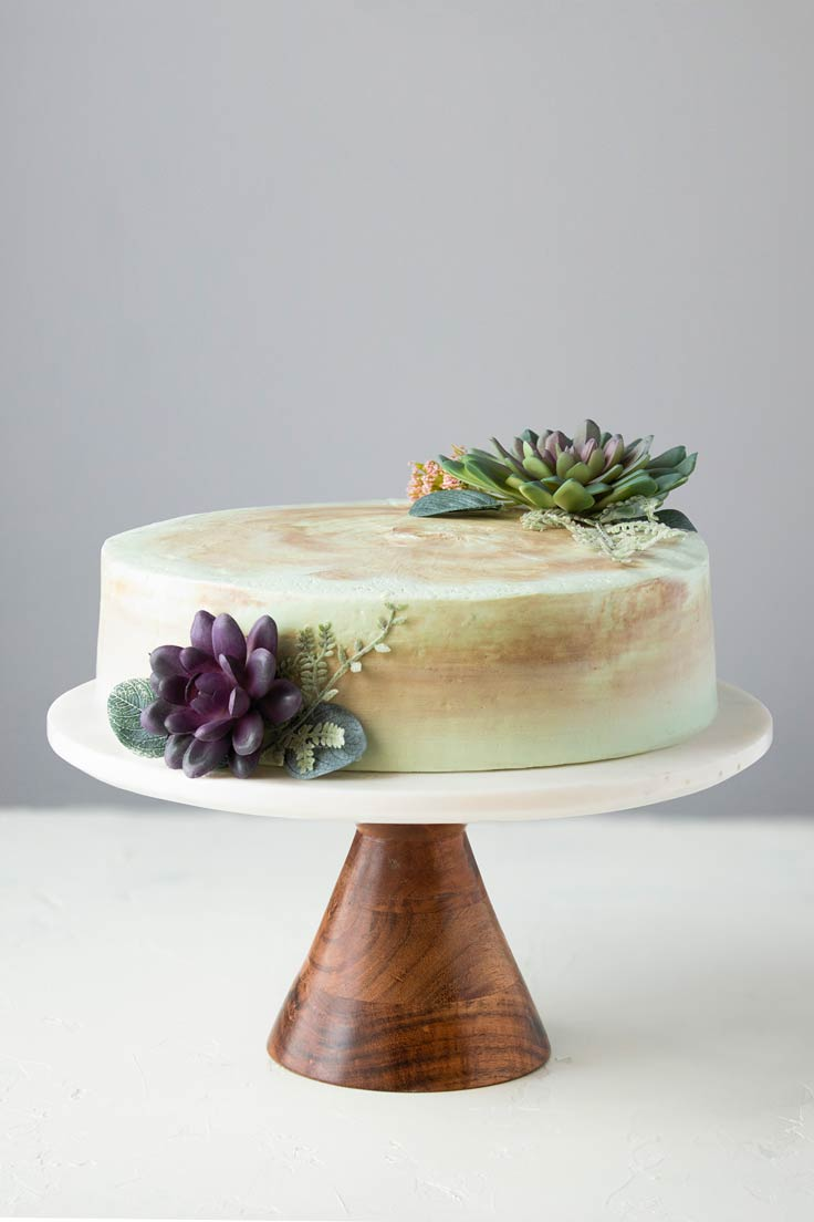 Amoretti Recipe: Pistachio Layer Cake