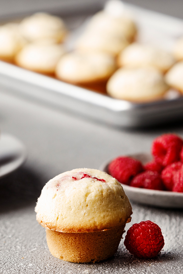 Amoretti Coconut Raspberry Muffins Recipe