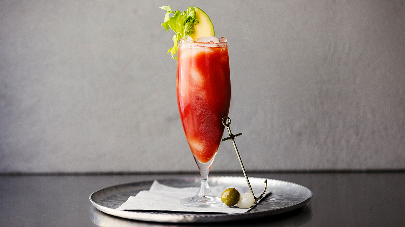 Amoretti Recipe: Mango Habanero Bloody Mary