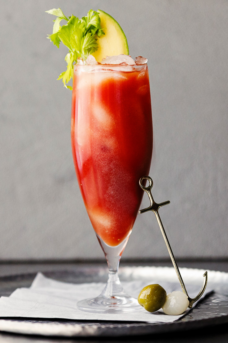 Amoretti Mango Habanero Bloody Mary Recipe