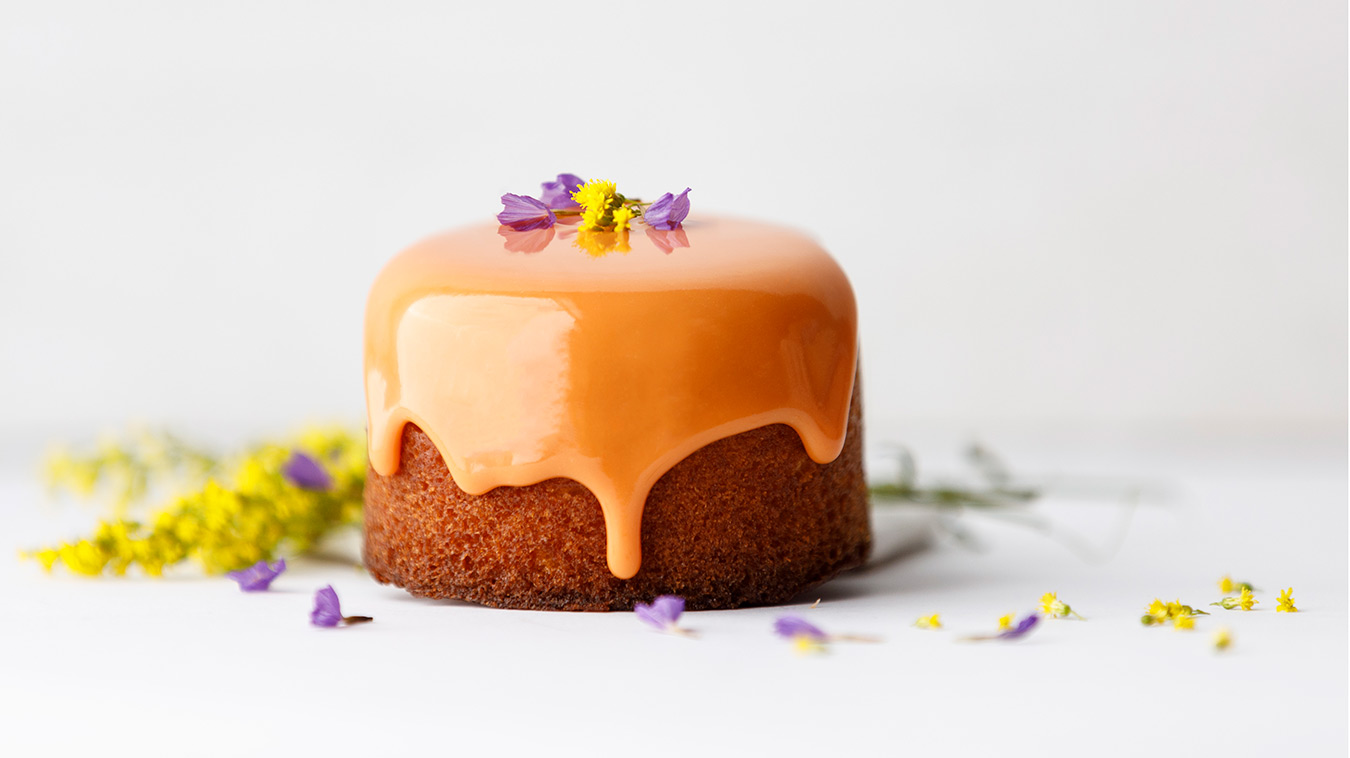 Amoretti Recipe: Lemon Verbena Pound Cake with Tangerine Glaze