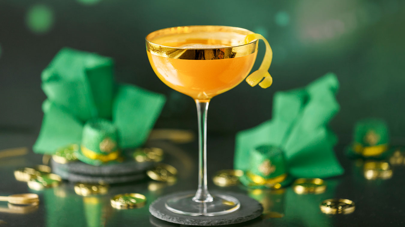 Amoretti Recipe: Leprechaun Lemonade Cocktail