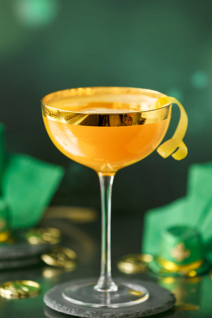 Amoretti Leprechaun Lemonade Cocktail Recipe