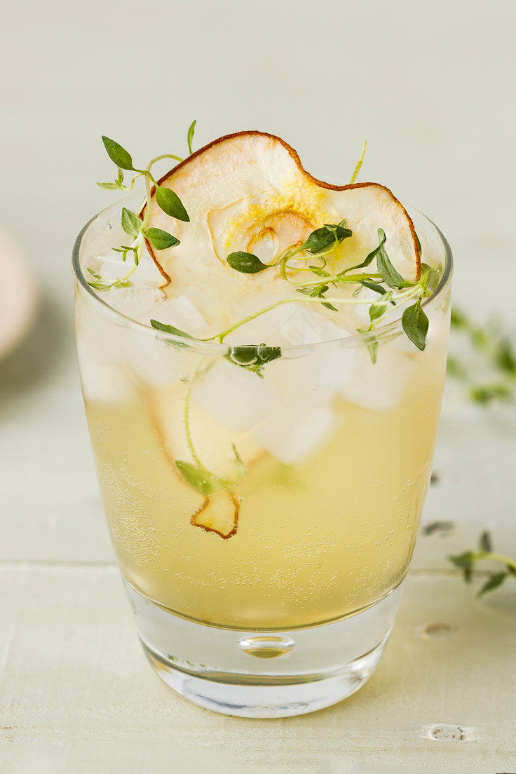Amoretti Pear Spritzer Recipe