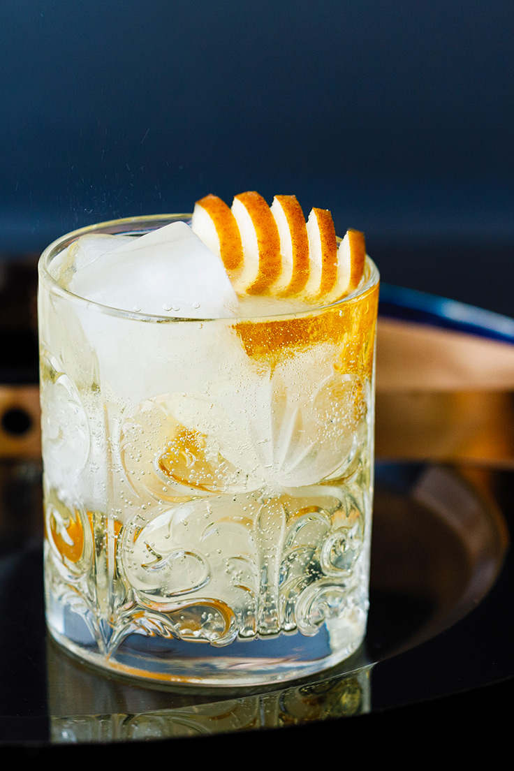 Amoretti Pear Almond Gin & Tonic Recipe