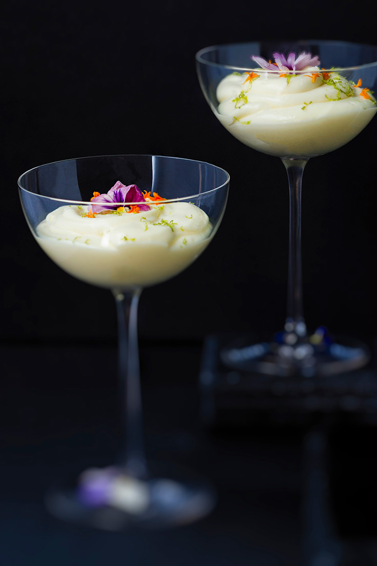 Amoretti Tropical Citrus Mousse Recipe