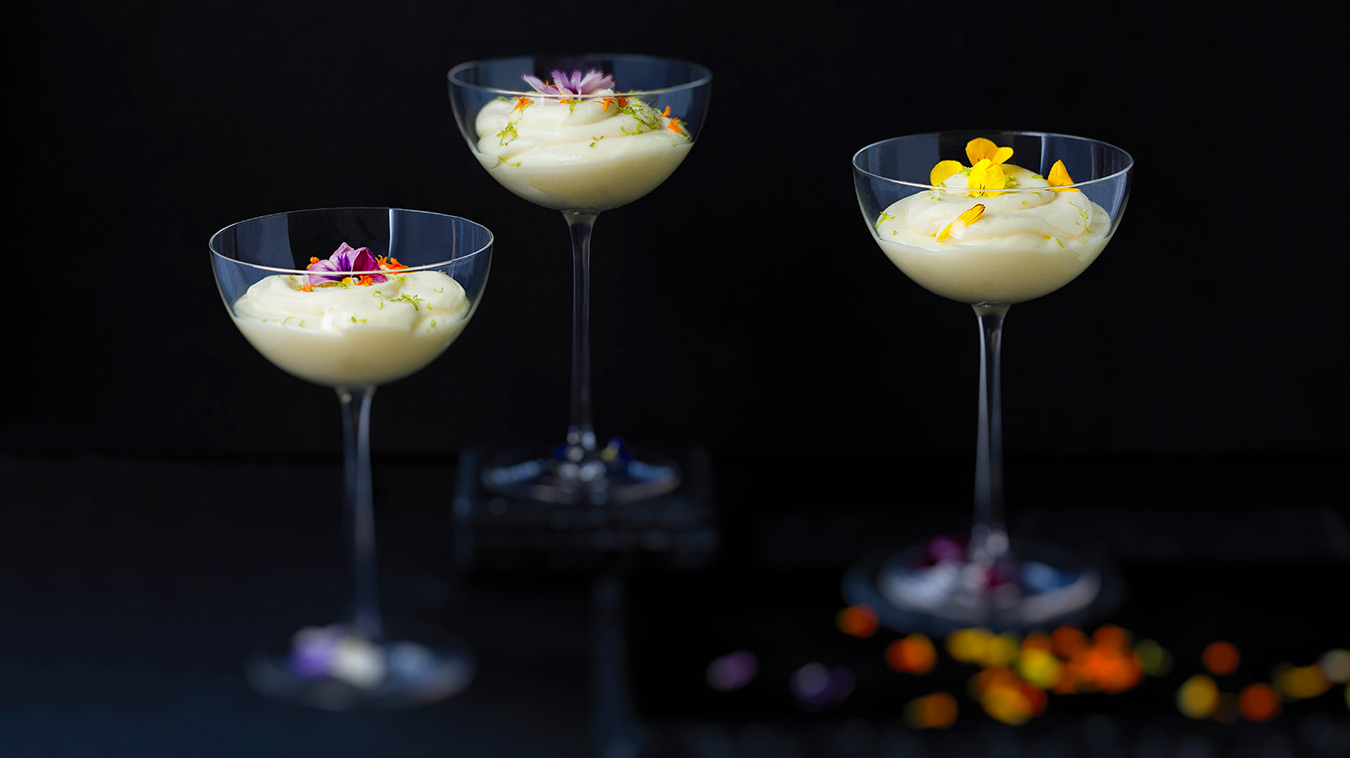 Amoretti Recipe: Tropical Citrus Mousse
