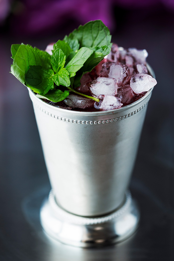 Toast the favorite with Amoretti's Blackberry Mint Julep Recipe