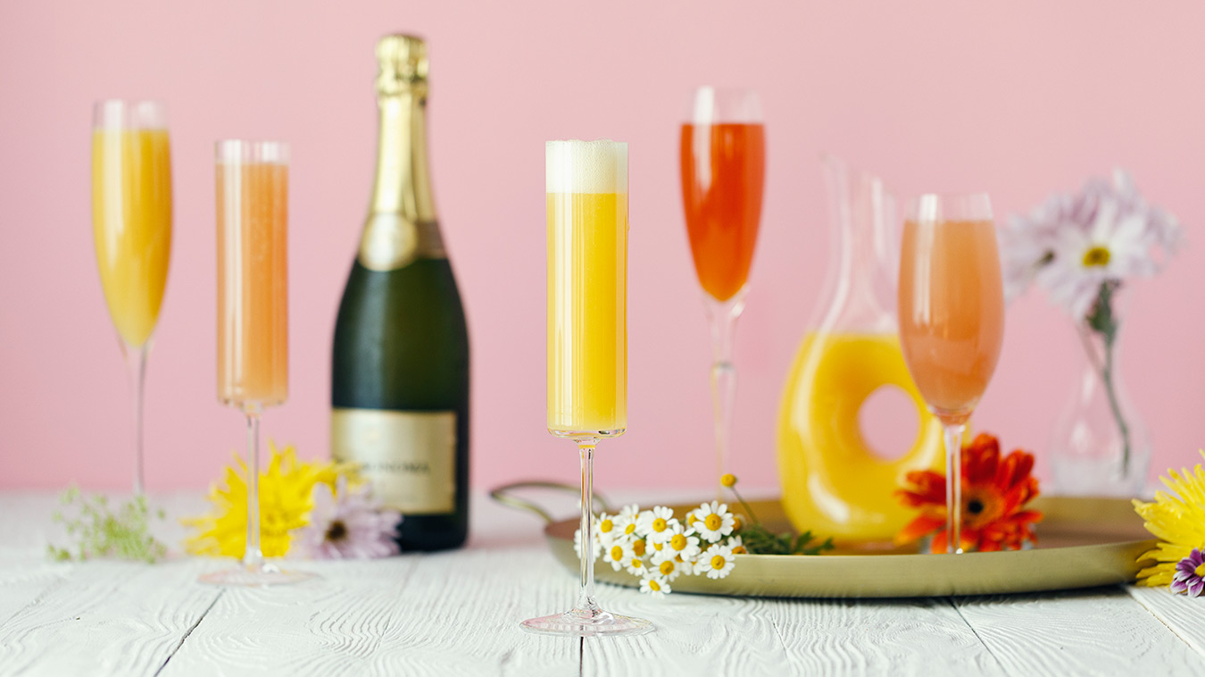 Amoretti Mother's Day Mimosa Bar with Craft Purées Recipe