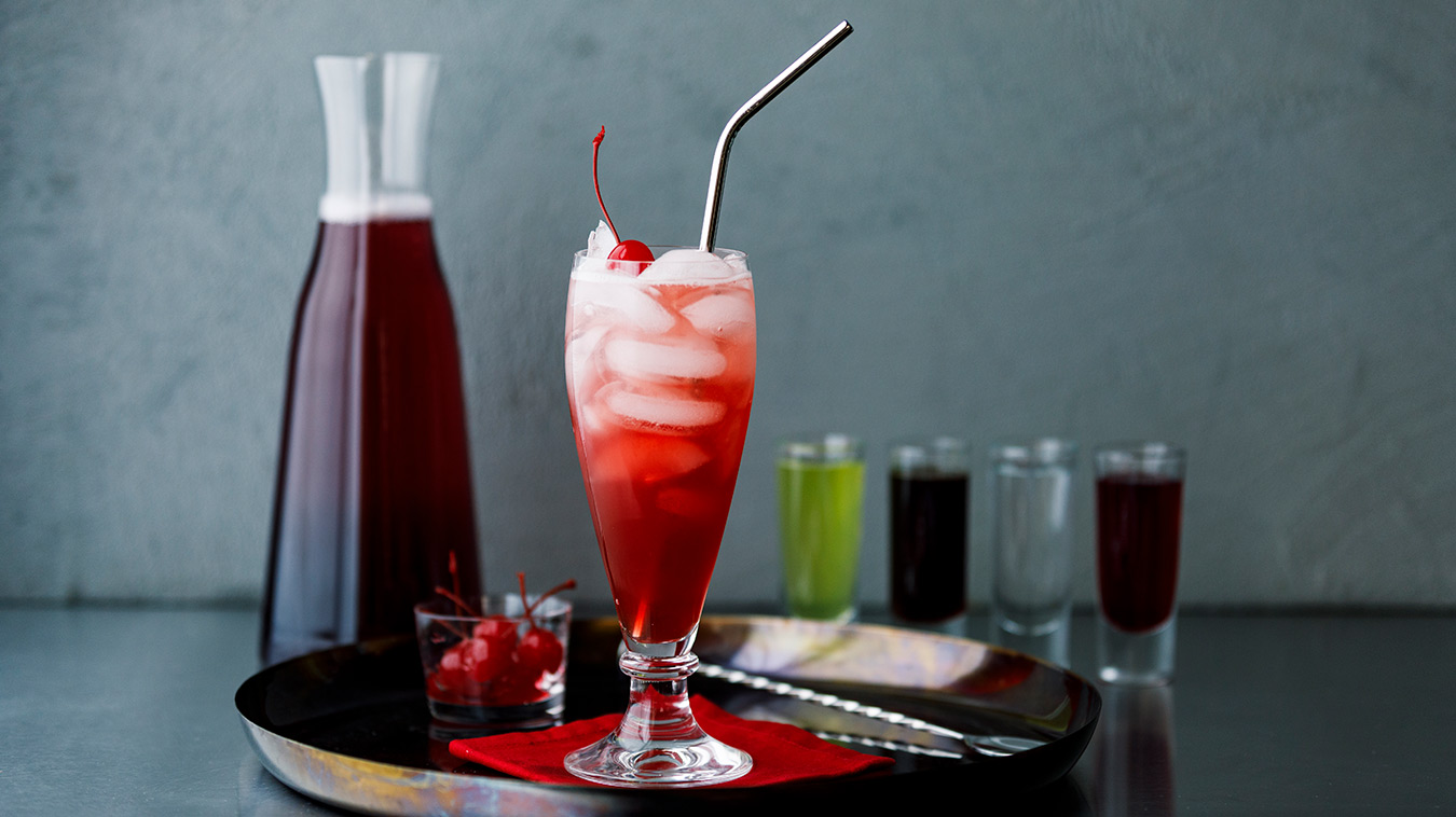 Amoretti Recipe: Dirty Shirley Cocktail