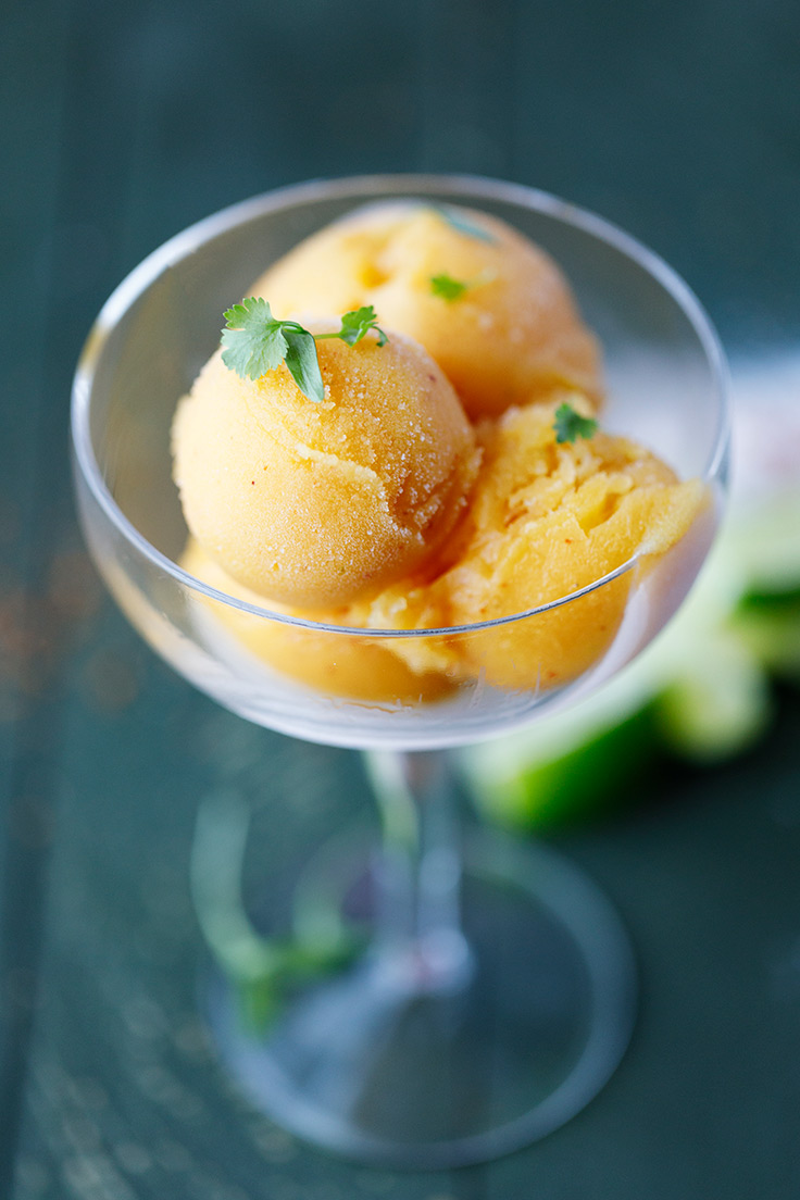 Amoretti Margarita Sorbet Recipe from above
