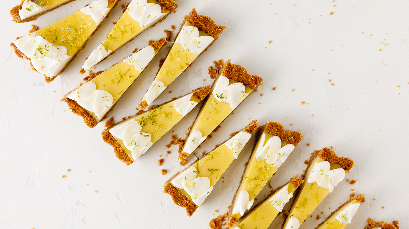 Amoretti Recipe: Coconut Lime Tart