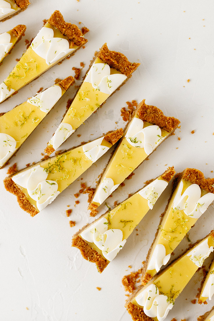 Amoretti Coconut Lime Tart Recipe