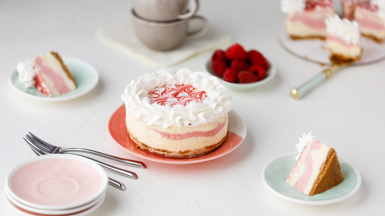 Amoretti Raspberry White Chocolate Cheesecake Recipe