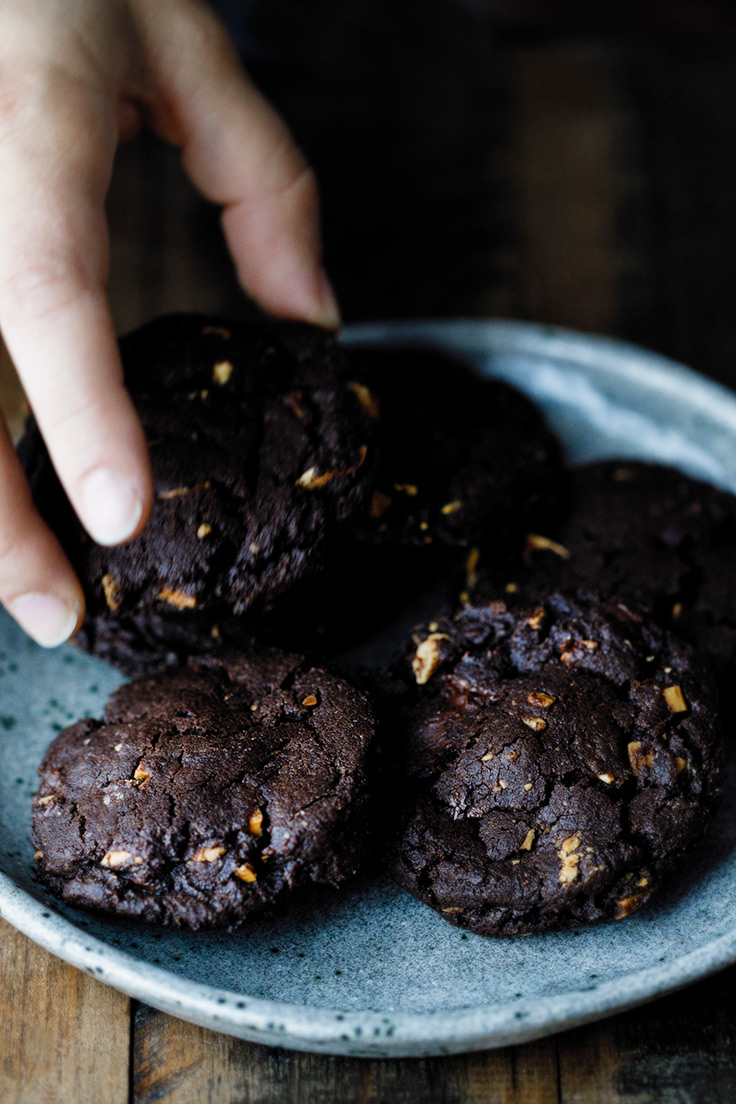 Amoretti Dark Chocolate Almond Cookies Recipe