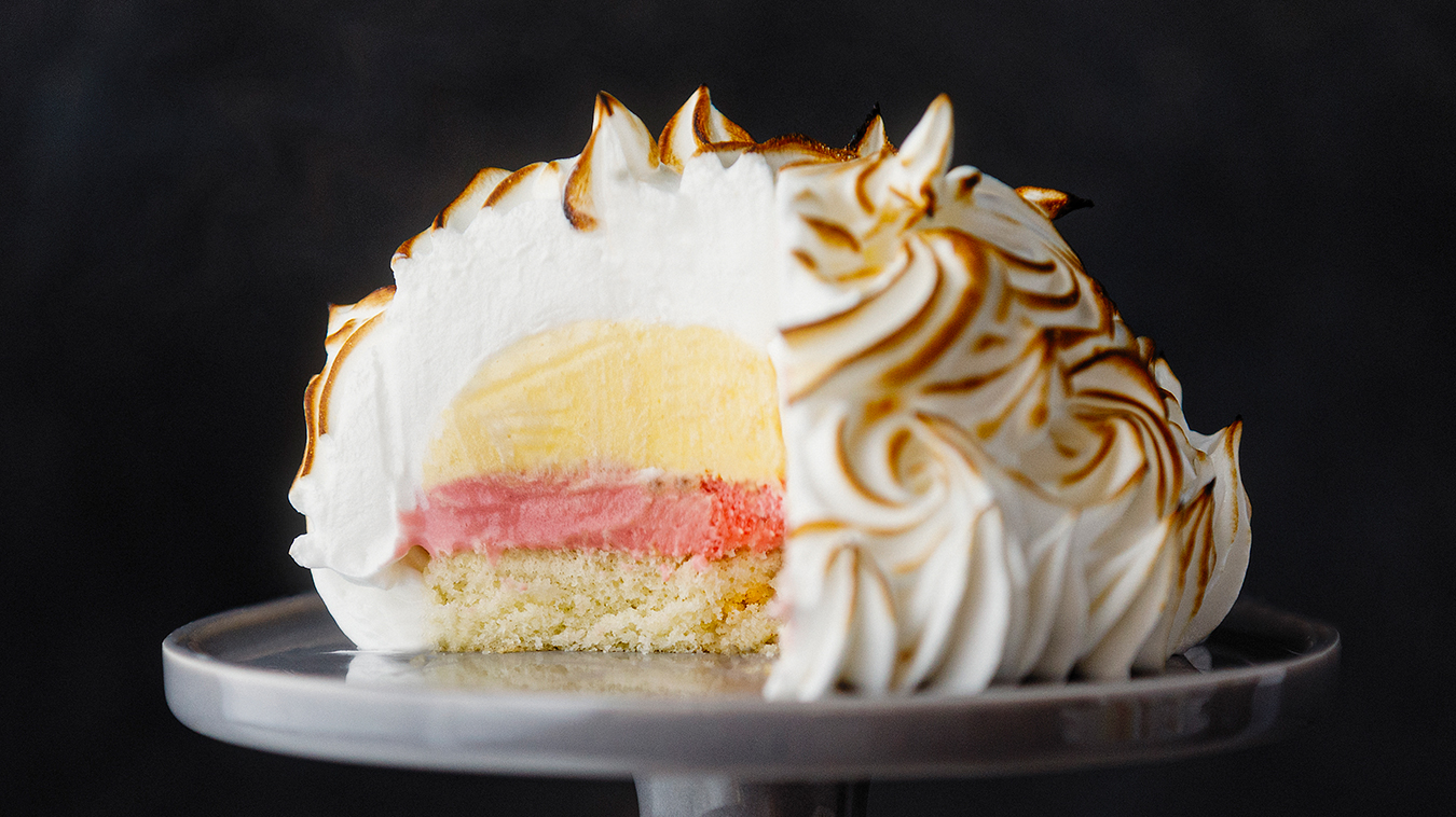 Amoretti Recipe: Mini Baked Alaska