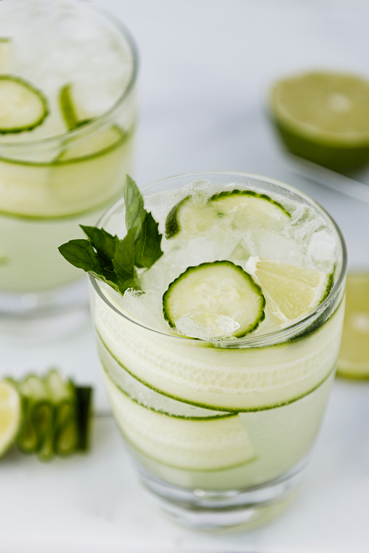 Amoretti Cucumber Melon Vodka Collins Recipe