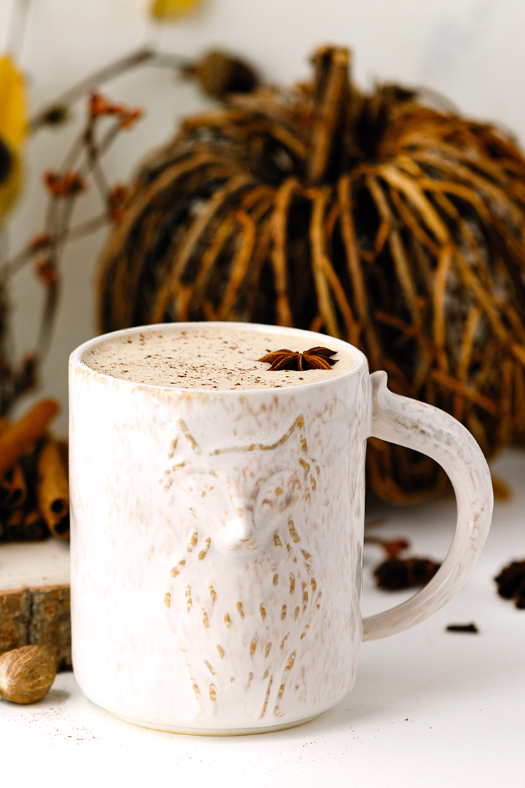 Amoretti Pumpkin Spice Chai Tea Latte Recipe