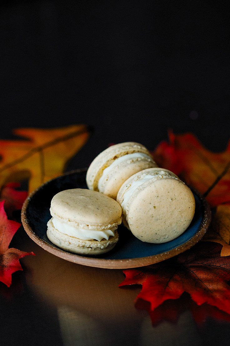 Amoretti Pumpkin Spice Macarons Recipe with Chef Colette