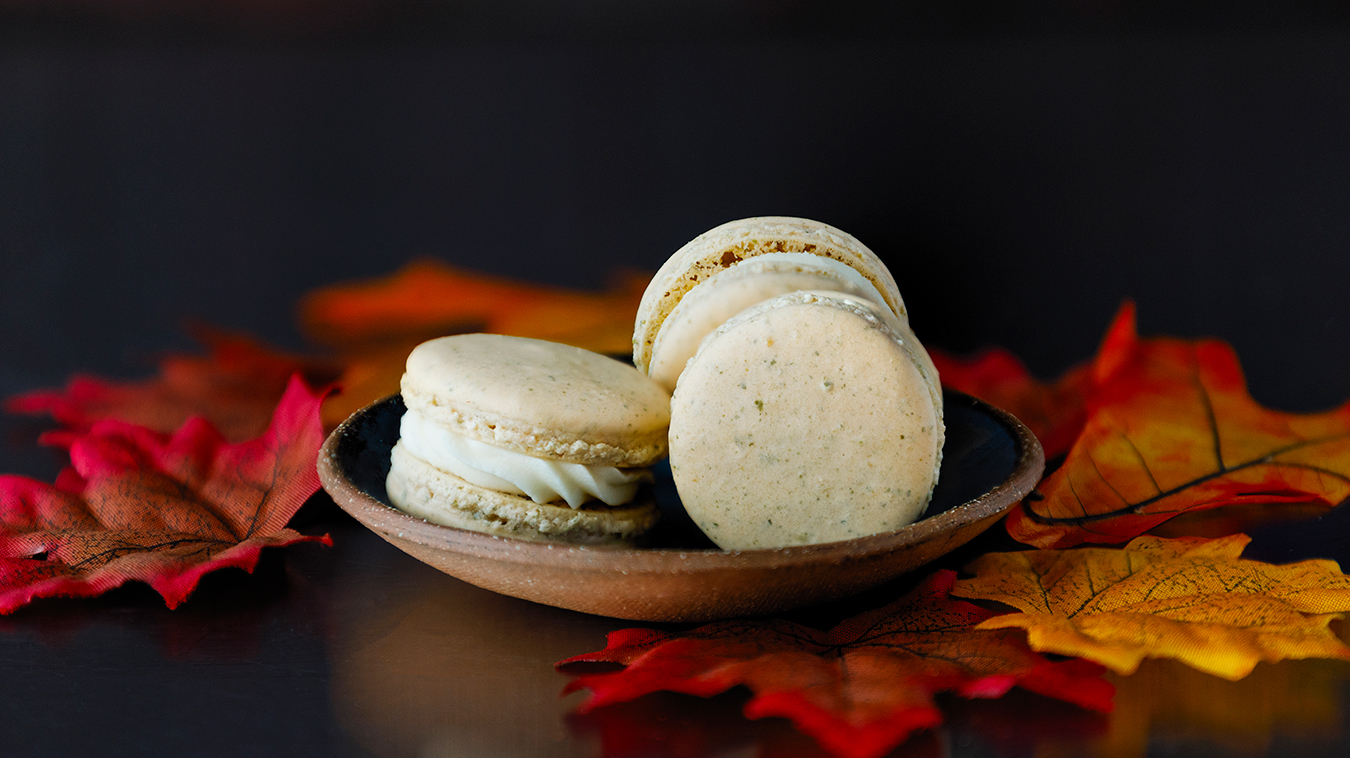 Amoretti Recipe: Pumpkin Spice Macarons with Chef Colette