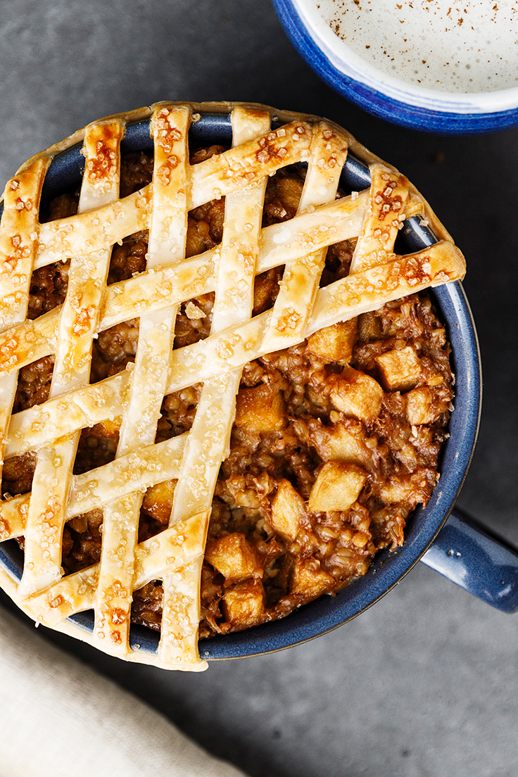 Amoretti Apple Pie Steel Cut Oats Recipe
