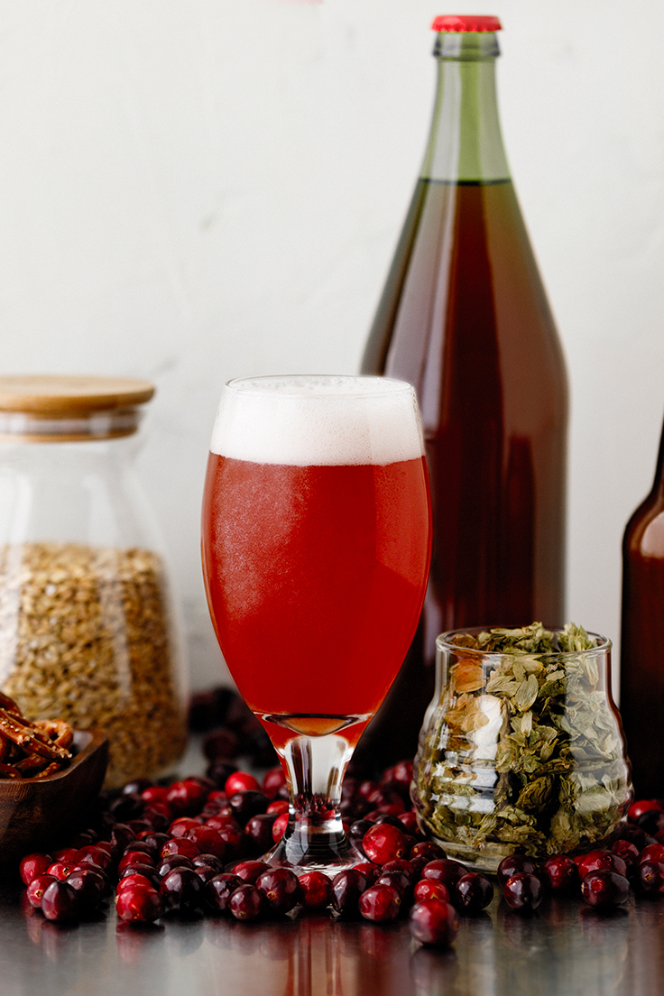 Murkwood Brewing with Amoretti: Cottonwood Blonde with Cranberry Artisan Recipe