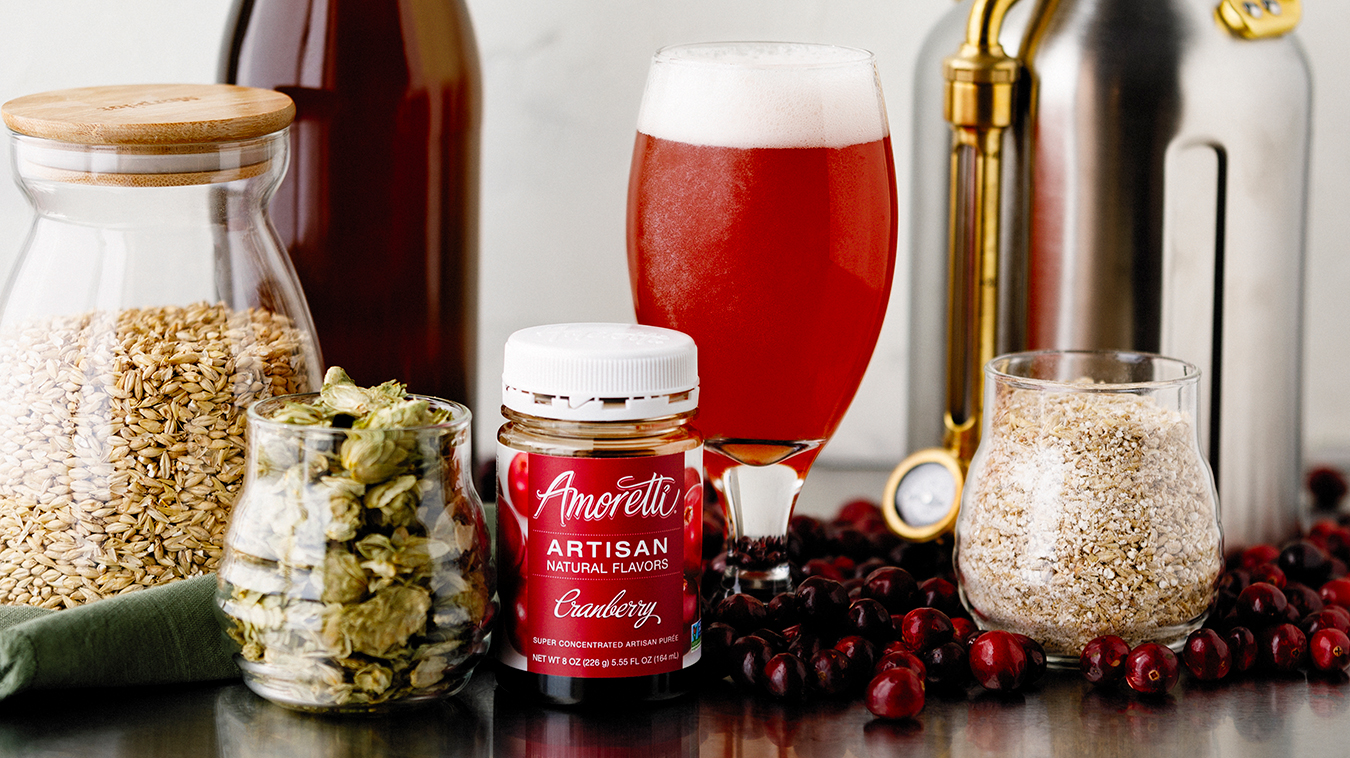 Murkwood Brewing with Amoretti Recipe: Cottonwood Blonde with Cranberry Artisan Natural Flavor