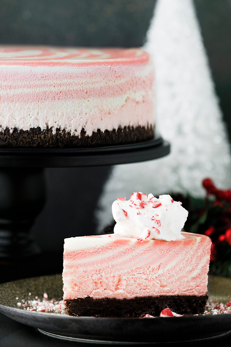 Amoretti Peppermint Zebra Cheesecake Recipe