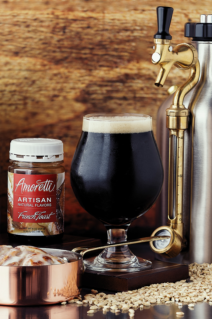 Murkwood Brewing with Amoretti: Second Breakfast Porter Recipe with French Toast Artisan Natural Flavor and Cinnamon Bun Artisan Natural Flavor