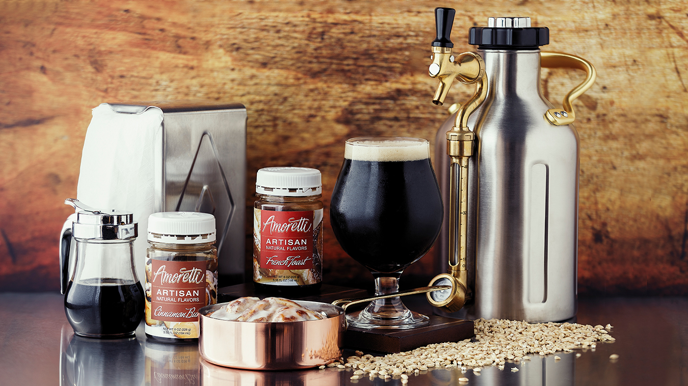 Murkwood Brewing with Amoretti Recipe: Second Breakfast Porter with French Toast Artisan Natural Flavor and Cinnamon Bun Artisan Natural Flavor