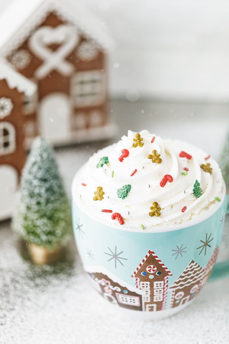 Amoretti Gingerbread White Hot Chocolate Recipe