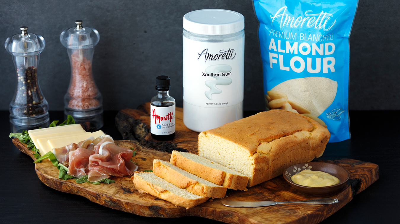 Amoretti Recipe: Keto Sandwich Bread