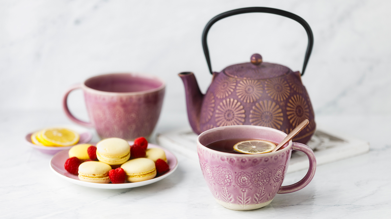 Amoretti Recipe: Raspberry Tea